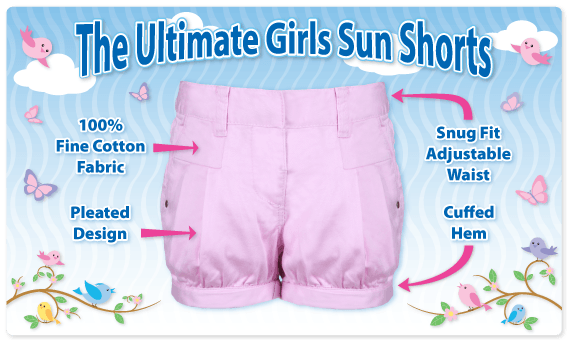Girls Sun Shorts