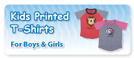 Kids Printed T Shirts